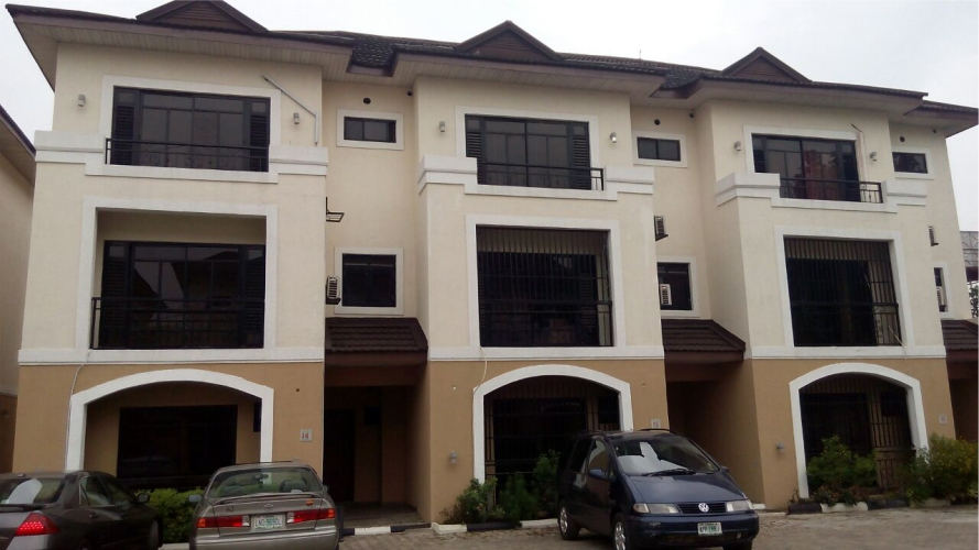 Kola Akomolede & Co. Property for Sale 4 Bedroom Terrace House + 1 room Bq, at GRA, Ikeja, Lagos. (2)