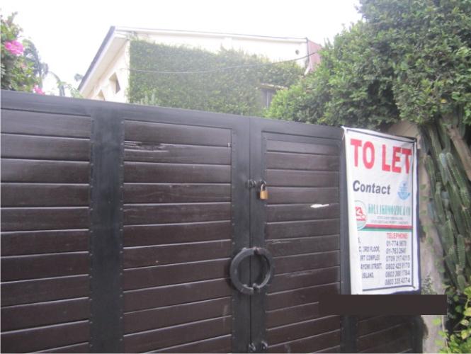 Kola Akomolede & Co Poperty To Let  4 Bedroom Wing Of Duplex House At  Ilupeju Street Dolphin Estate, Ikoyi (1)