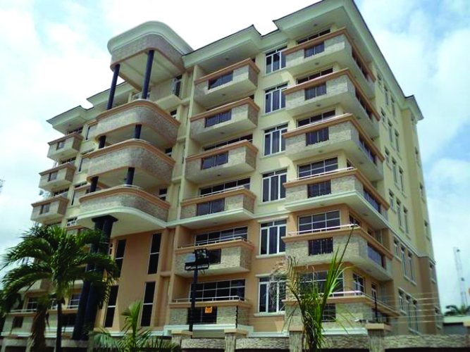 Kola Akomolede & Co Property To Let  3 Bedroom Serviced Flat At mike Inegbese Close Off Amodu Ojikutu V.I Lagos (1)
